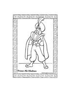 Aladdin da colorare 52