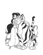 Aladdin da colorare 65