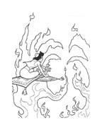 Aladdin da colorare 68