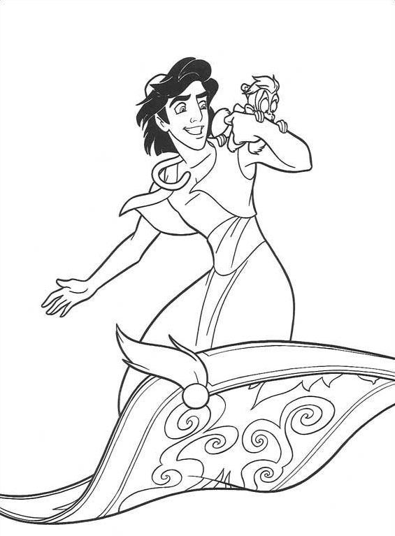 Aladdin da colorare 70
