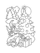 Natale da colorare 26