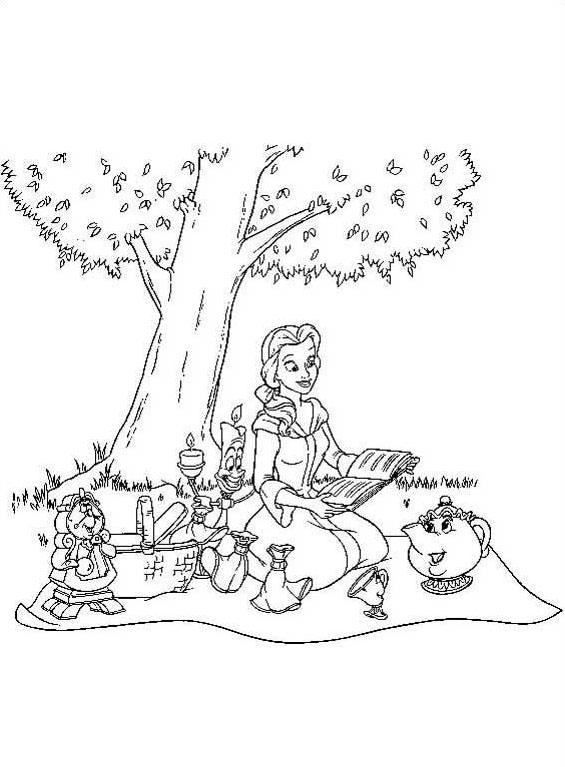 Alice nel paese delle meraviglie da colorare 4