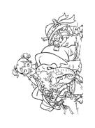 Alvin e i Chipmunks da colorare 4