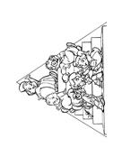 Alvin e i Chipmunks da colorare 5