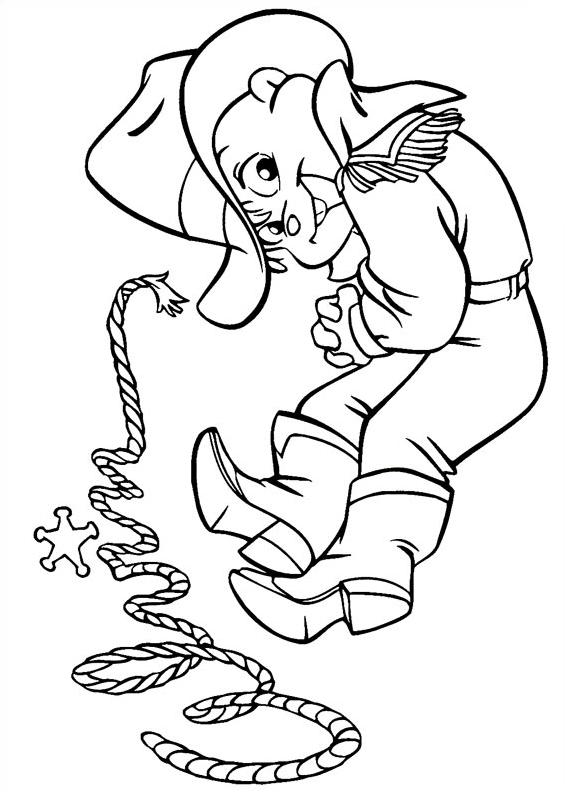 Alvin chipmunk da colorare 7