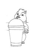 Alvin e i Chipmunks da colorare 25