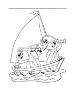 Alvin e i Chipmunks da colorare 28
