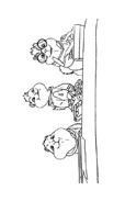Alvin e i Chipmunks da colorare 35