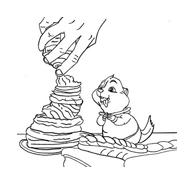 Alvin e i Chipmunks da colorare 36