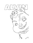 Alvin e i Chipmunks da colorare 37