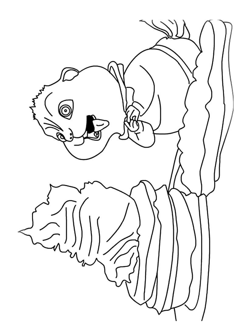 Alvin chipmunk da colorare 40