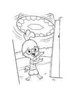 Chicken little – Amici per le penne da colorare 6