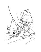 Chicken little – Amici per le penne da colorare 14