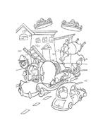 Chicken little – Amici per le penne da colorare 19