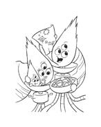 Chicken little – Amici per le penne da colorare 22