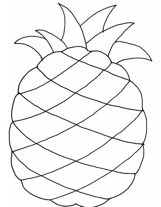Frutto da colorare 2