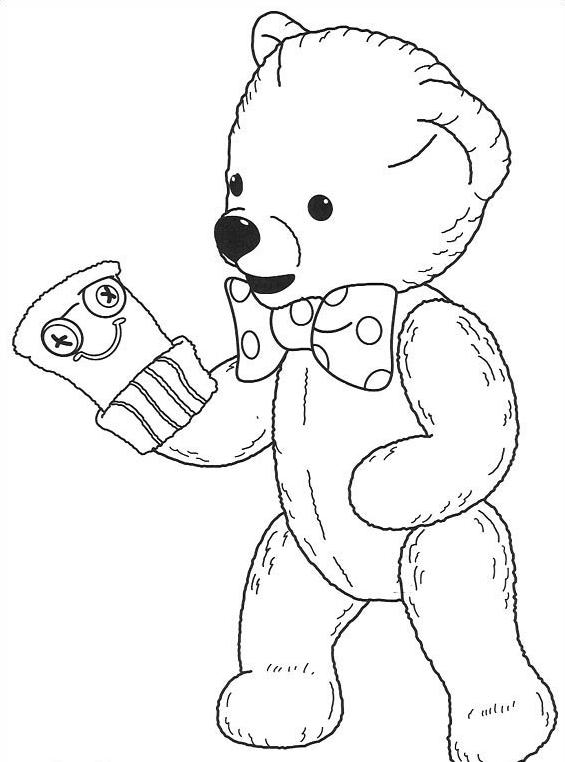 Andy pandy da colorare 22