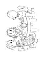 Andy pandy da colorare 34