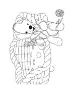 Andy pandy da colorare 38