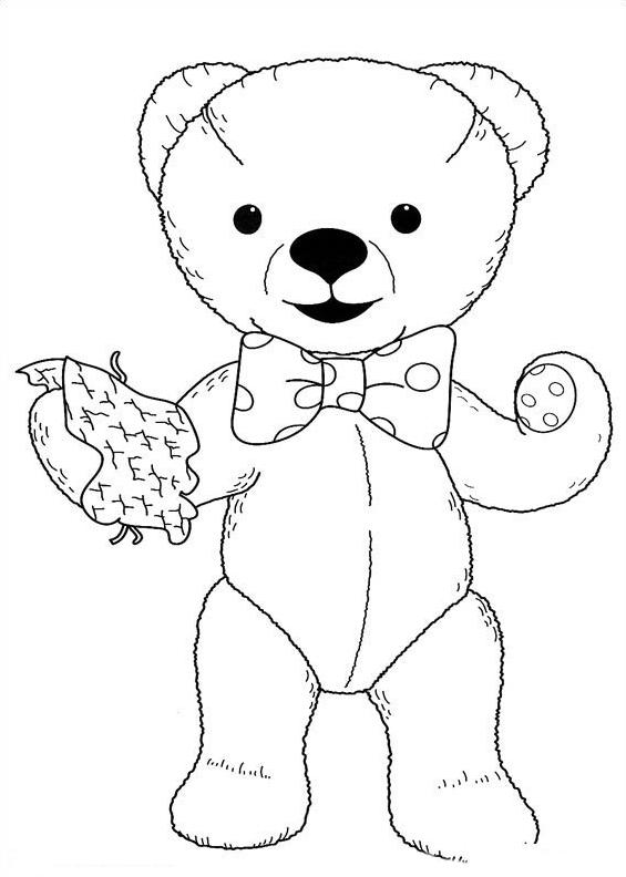 Andy pandy da colorare 40