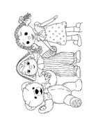 Andy pandy da colorare 48