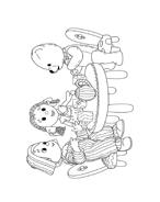 Andy pandy da colorare 89