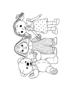 Andy pandy da colorare 104