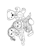 Andy pandy da colorare 109