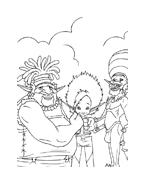 Arthur e il popolo dei minimei da colorare 26