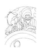 Arthur e il popolo dei minimei da colorare 29
