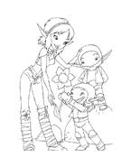 Arthur e il popolo dei minimei da colorare 33