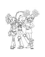 Arthur e il popolo dei minimei da colorare 48