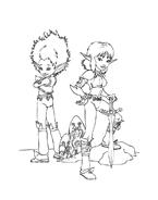 Arthur e il popolo dei minimei da colorare 53