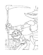 Arthur e il popolo dei minimei da colorare 56