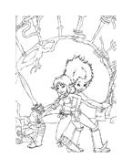 Arthur e il popolo dei minimei da colorare 57