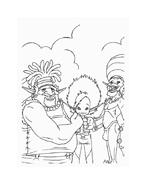 Arthur e il popolo dei minimei da colorare 97