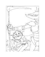 Arthur e il popolo dei minimei da colorare 114