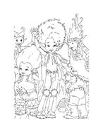 Arthur e il popolo dei minimei da colorare 120
