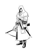 Assassin creed da colorare
