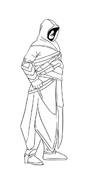 Assassin creed da colorare 6