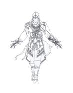 Assassin creed da colorare 13