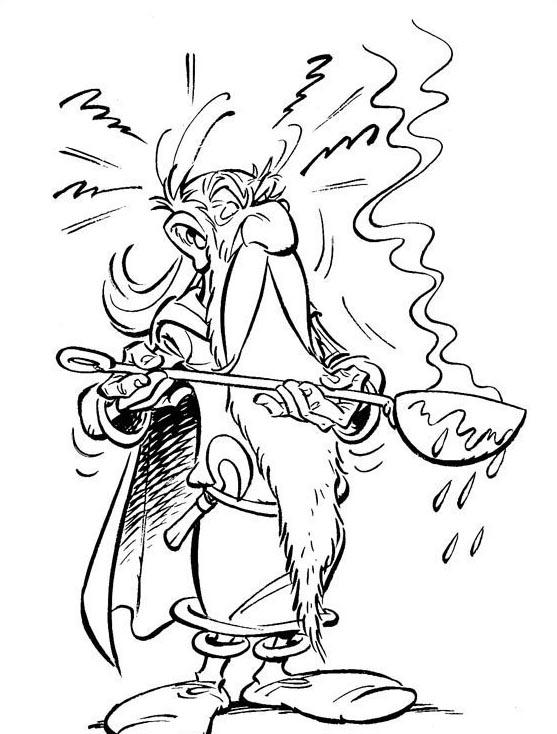 Asterix da colorare 6