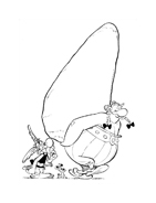 Asterix e Obelix da colorare 14