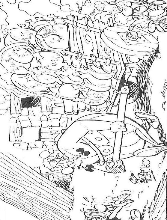 Asterix da colorare 15