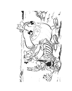 Asterix e Obelix da colorare 30