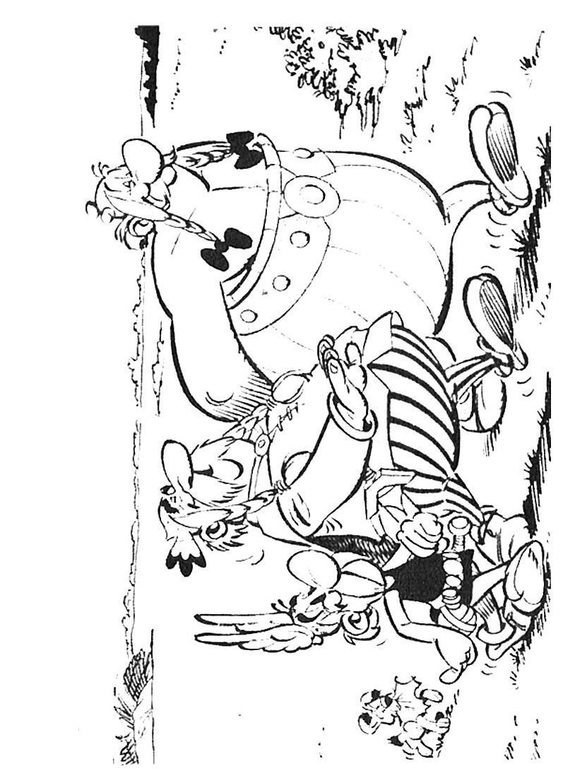 Asterix da colorare 30