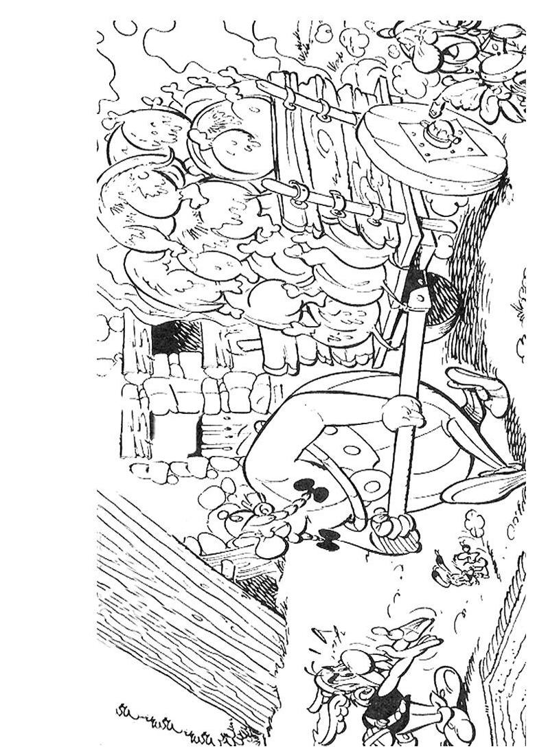 Asterix da colorare 31
