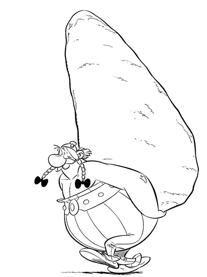Asterix da colorare 36