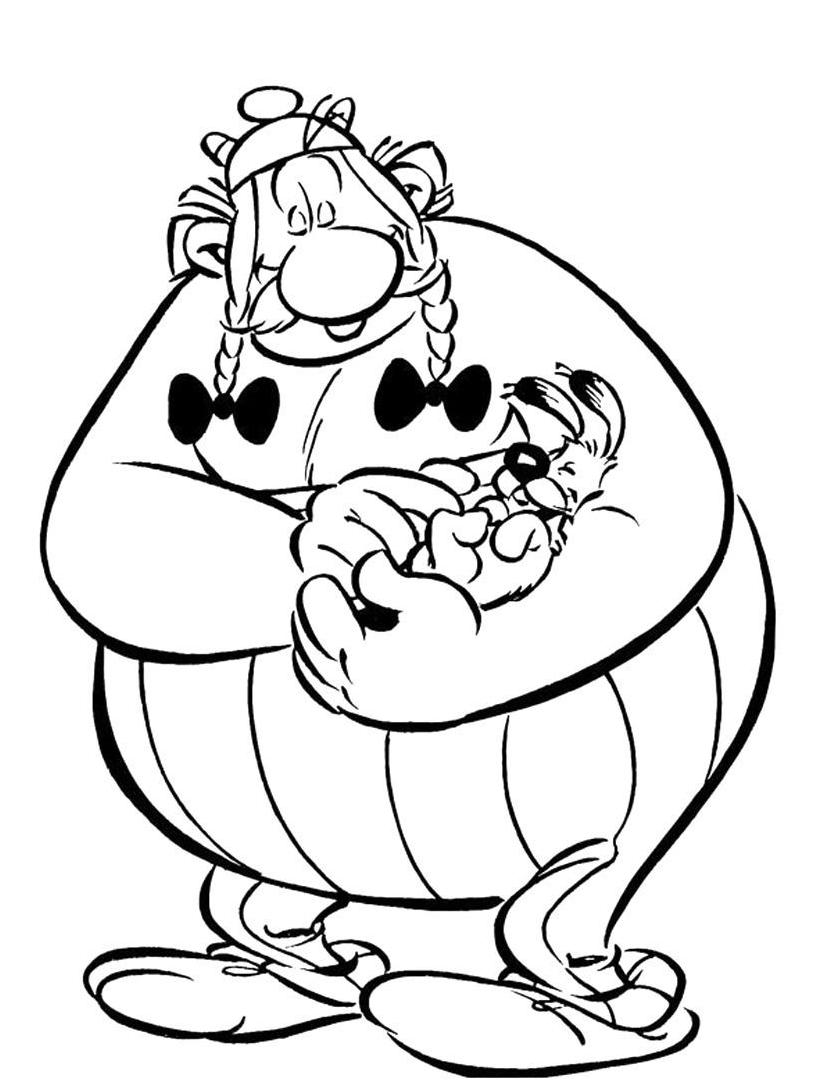 Asterix da colorare 38