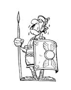 Asterix e Obelix da colorare 40